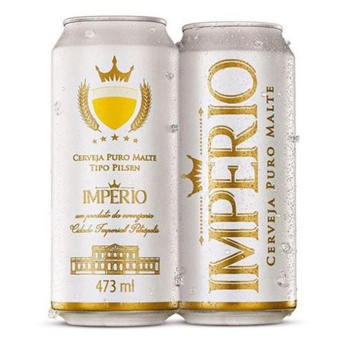 Cerveja Imperio 473ml Lt Puro Malte