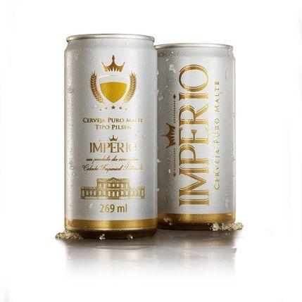 Cerveja Império Pilsen Lt 269Ml