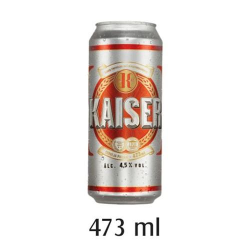 Cerveja Kaiser 473ml Lata