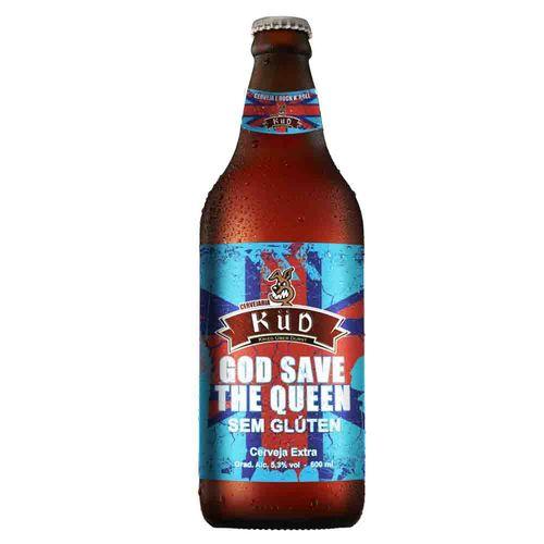 Cerveja Küd God Save The Queen Sem Gluten 600ml