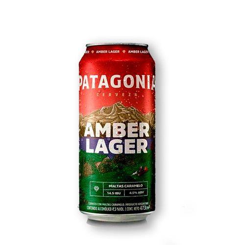 Cerveja Patagonia Amber Lager 473ml