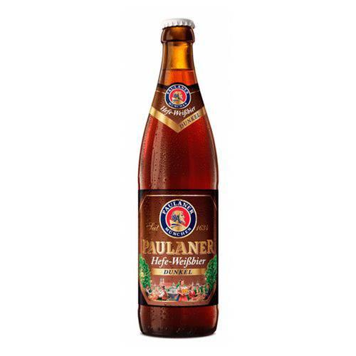 Cerveja Paulaner Hefe Weissbier Dunkel 500 ML