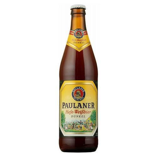 Cerveja Paulaner Hefe-Weissbier Dunkel 500ml