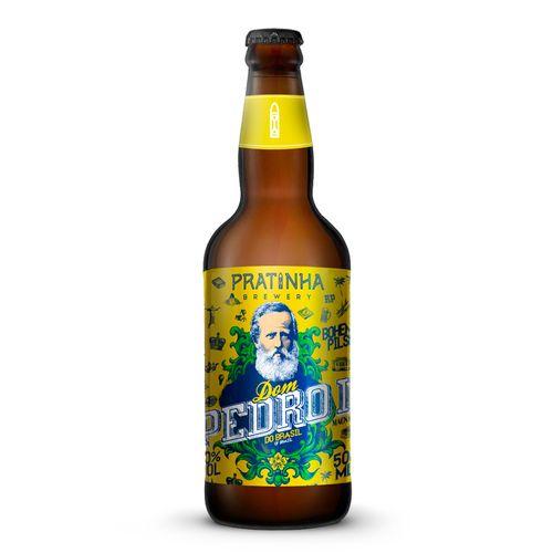 Cerveja Pratinha Dom Pedro II 500ml