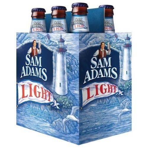 Cerveja Samuel Adams Light - Pack 6 Unidades (355ml)