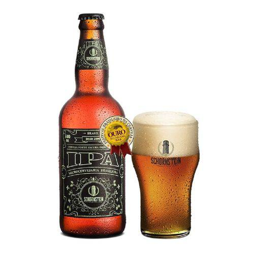 Cerveja Schornstein India Pale Ale 500ml.