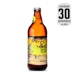 Cerveja Três Lobos American Pilsen 600ml + 28 KM