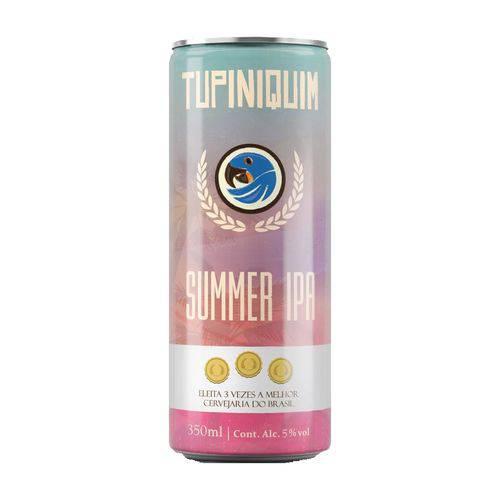 Cerveja Tupiniquim Summer Ipa Lata - 350ml