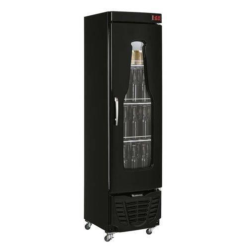 Cervejeira Gelopar Vertical 230 Litros 1 Porta de Vidro Antiembaçante Inox Grba-230c/pr 220v