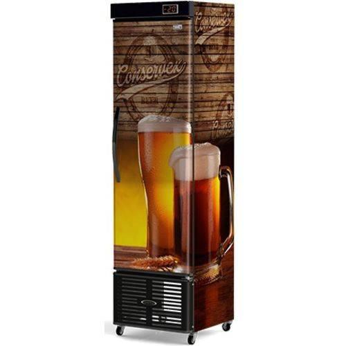 Cervejeira Vertical Vidro Conservex Crv250p