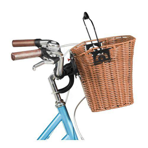 Cesta Blitz em Vime para Bicicletas