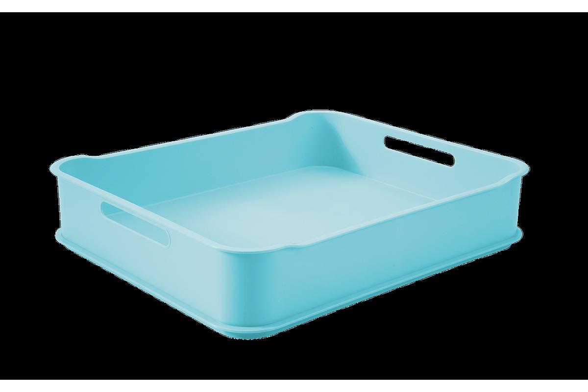 Cesta Fit Baby Maxi 38 X 31,6 X 8 Cm Azul Baby Coza