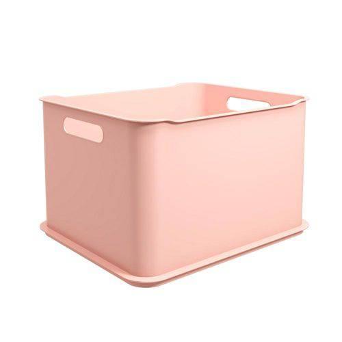 Cesta Fit Ultra 38 X 32 X 23 Cm Rosa Blush - Coza
