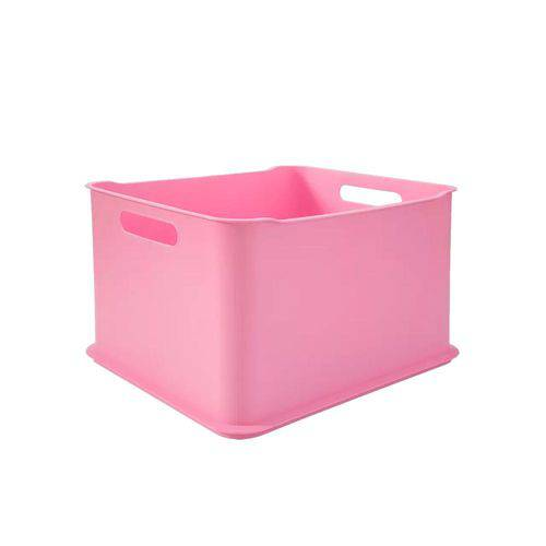 Cesta Fit Ultra Baby 38 X 32 X 23 Cm Rosa Baby - Coza