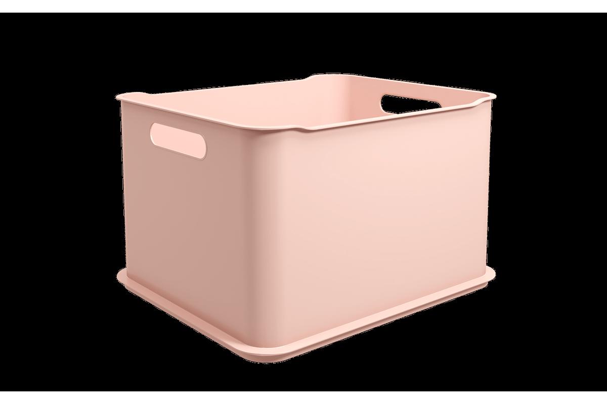 Cesta Fit Ultra - RBL 38 X 32 X 23 Cm Rosa Blush Coza