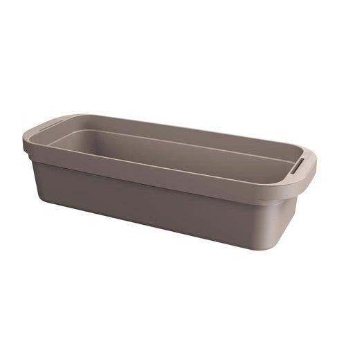 Cesta Loft Slim 44,8 X 17,3 X 10 Cm Warm Gray - Coza