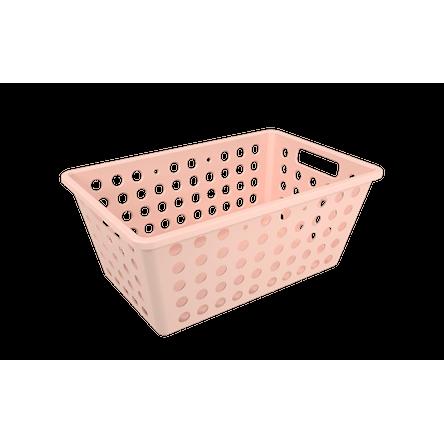 Cesta One Grande - RBL 28,8 X 19,1 X 12,3 Cm Rosa Blush Coza