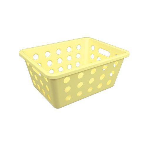 Cesta One Pequena 18,6 X 14,2 X 8,6 Cm Amarelo - Coza