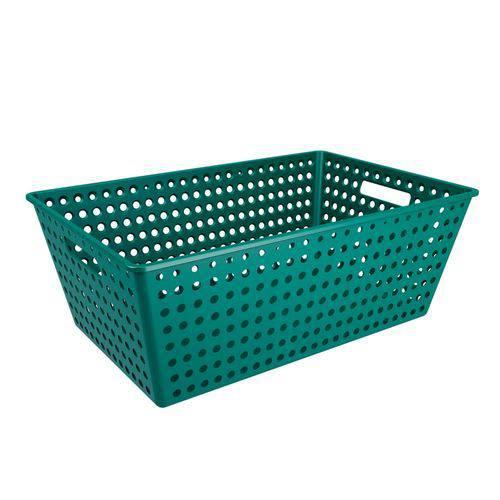 Cestão One 59,5 X 38,8 X 22,3 Cm Verde Esmeralda - Coza