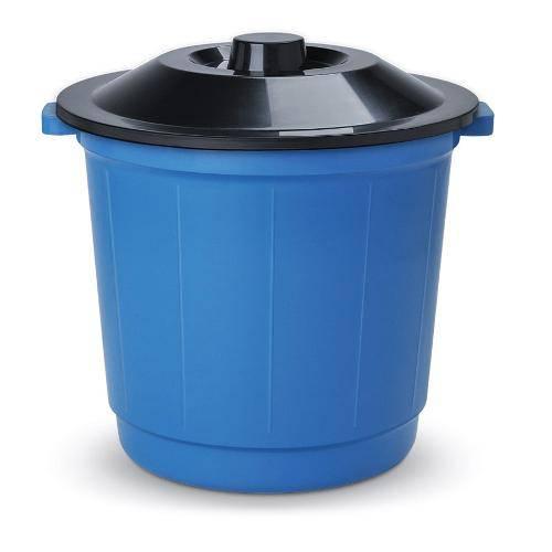 Cesto de Lixo C/ Tampa Capacidade de 30l Arqplast