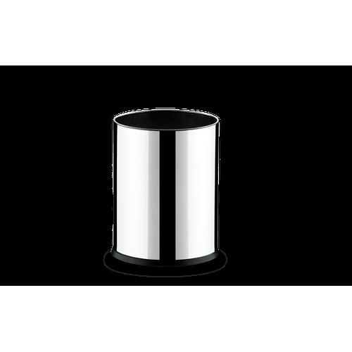 Cesto Inox 4,5 Litros - Decorline Lixeiras Ø 17 X 22 Cm