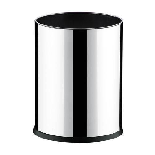 Cesto Inox 4,5l Fundo Plástico 17x22cm