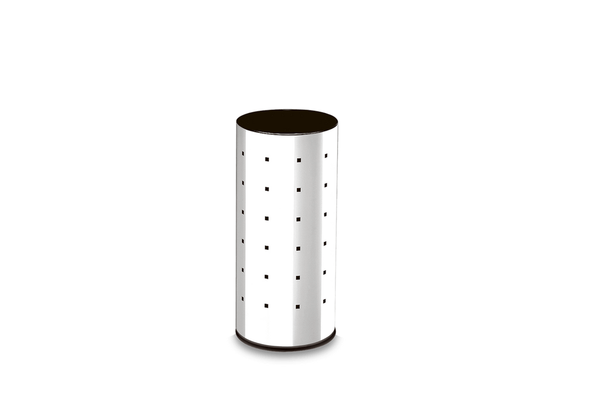 Cesto Inox Alpha - Decorline Lixeiras Ø 20 X 43 Cm