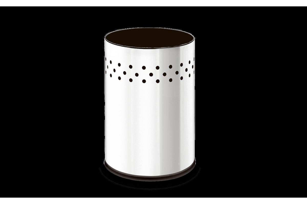 Cesto Inox Gamma 9,4 Litros Gamma - Decorline Lixeiras Ø 20 X 29 Cm