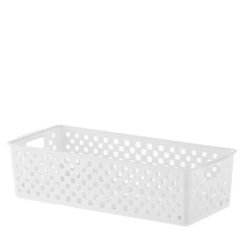 Cesto Organizador Quadratta Branco 34X15X9CM - 33431