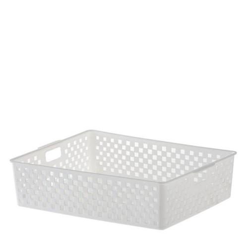 Cesto Organizador Quadratta Branco 34X27X9CM - 33430