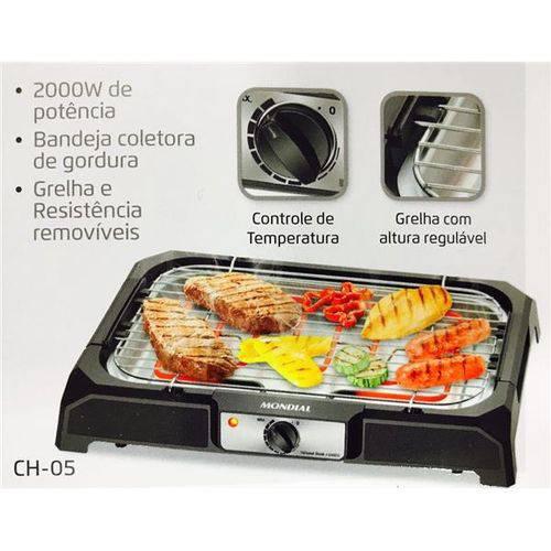 Ch-05 - Churrasqueira Elétrica Grand Steak & Grill 220V - Mondial