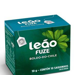 Chá Boldo do Chile Leão 10g Contém 10 Saches