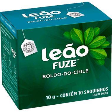 Chá de Boldo-do-Chile Fuze Leão 10 Saquinhos
