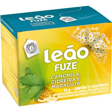Chá de Camomila Cidreira e Maracujá Leão