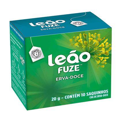 Chá de Erva-doce com 10 Sachês Fuze Leão