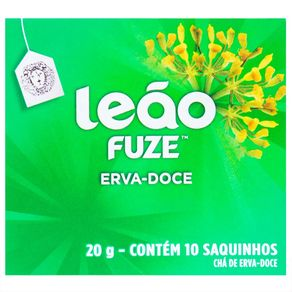 Chá de Erva Doce Leão 20g com 10 Sachês