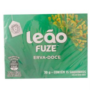 Chá de Erva Doce Leão Fuze 30g com 15 Sachês