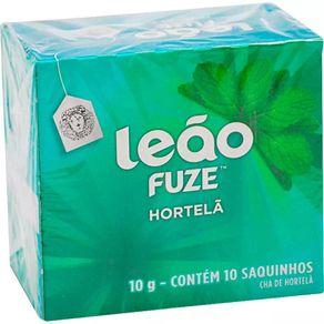 Chá de Hortelã Leão 10g Contém 10 Saches