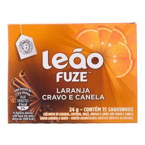 Chá de Laranja com Cravo e Canela Leão 24g