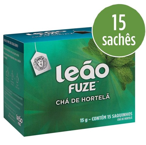 Cha Leao 15g Hortela