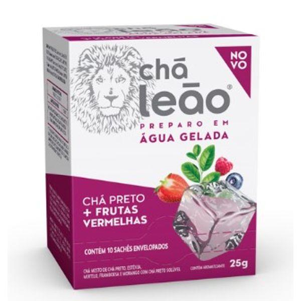 Chá Leão 24g Preto com Frutas Vermelhas