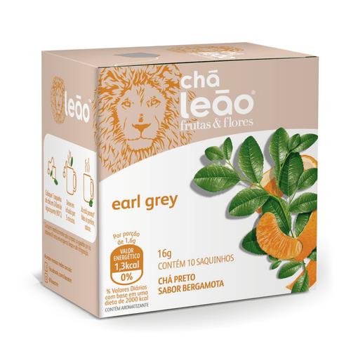 Chá Leão - Earl Grey 10 SACHÊS