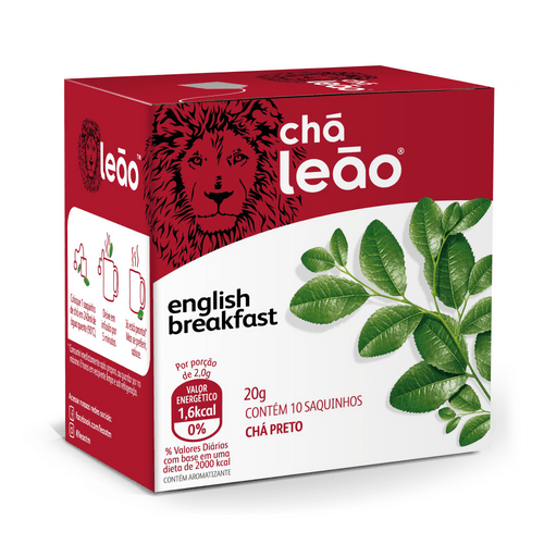Chá Leão - English Breakfast 10 SACHÊS
