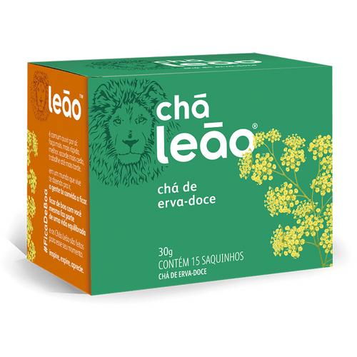 Chá Leão Erva Doce 15 Sachês Chá Leão Erva Doce 15 Sachês