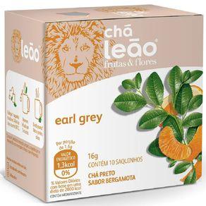 Chá Leão Frutas e Flores Earl Grey 10 Sachês de 16g