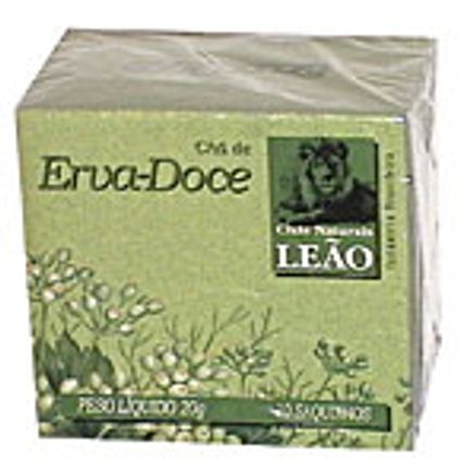 Chá Leao Fuze Erva Doce 10un