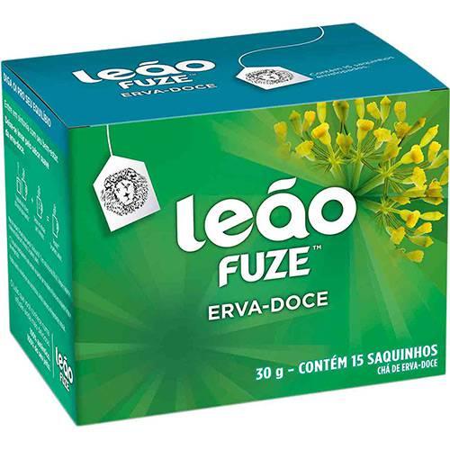 Chá Leão Fuze Erva-Doce (15 Saquinhos)