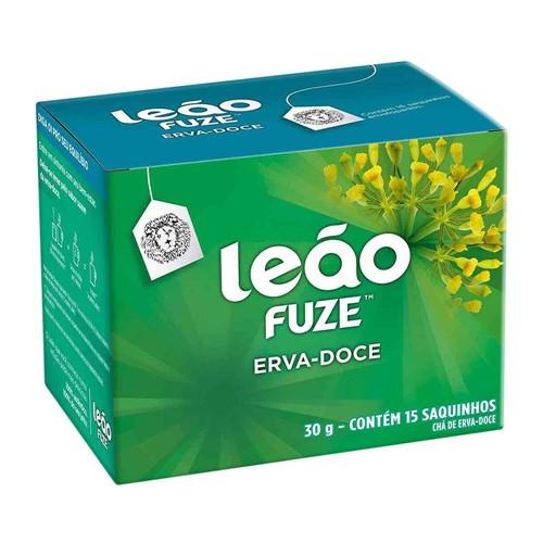 Chá Leão Fuze Erva- Doce com 15 Sachês