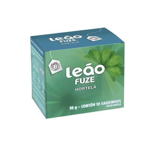 Chá Leão Hortela Sachet 10 Gramas Caixa 10 Sachet