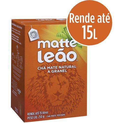 Cha Mate Leao A? Granel 250g Leao